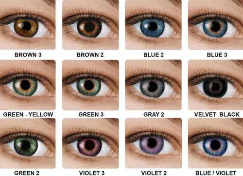 цветные тени в макияже, красивые вариации и техники создания